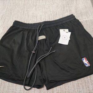 FOG X NIKE X NBA Collaboration Shorts-Black
